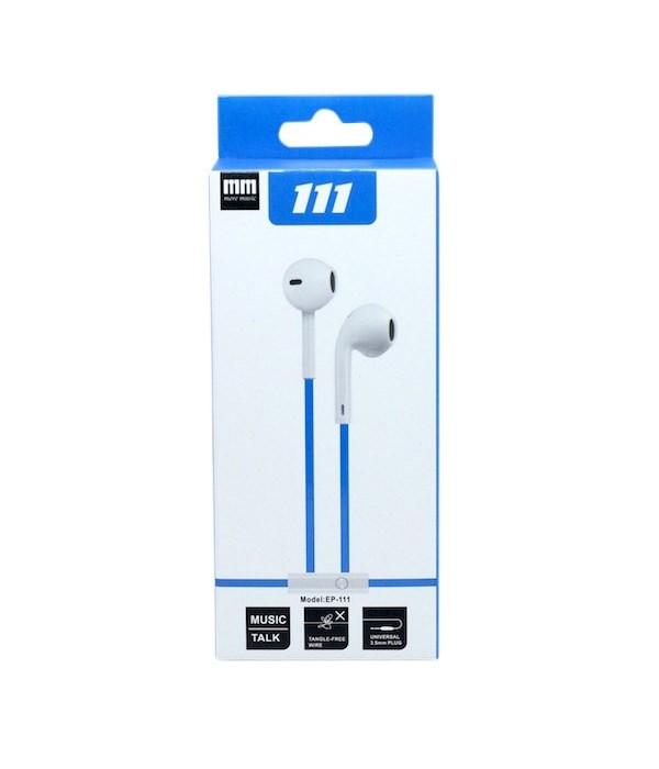 EP111 stereo headphones 10'S