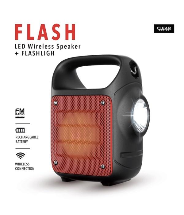 LED Wireless Speaker Flash