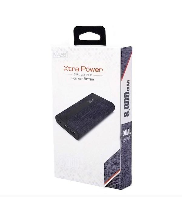 xtra power 8000 mAh 2A/2 port