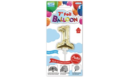"""7"""" AUTO INFLATABLE BALLOONS"""