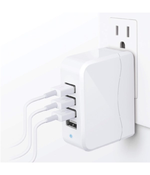 4 Port USB charger 4.9A
