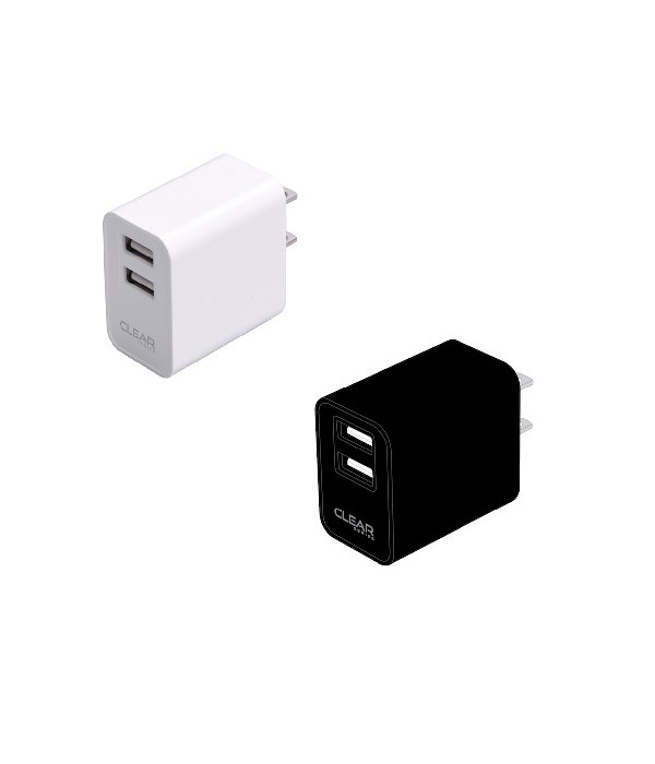 wall charger 2.1a 2port 20/40s