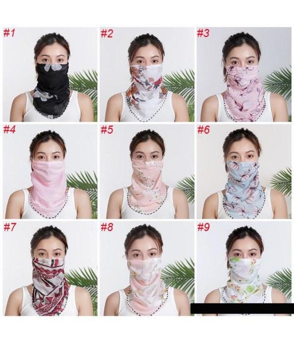 lady's scarf mask 12/300s