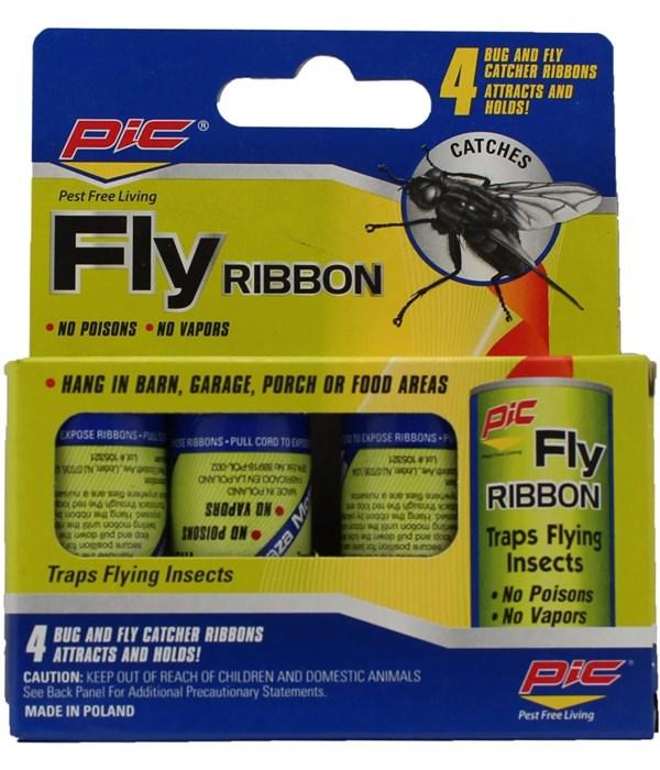 4pk bolt fly ribbon 24/288