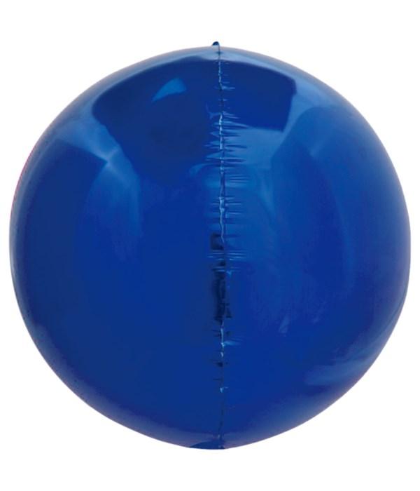 sphere balloon R.blue 20/1000s