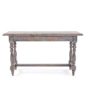 Distressed Farm House Console Table