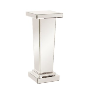 Tapered Mirrored Pedestal