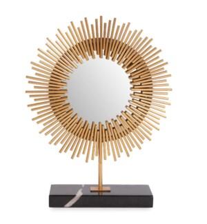 Ra Sunburst Table Mirror