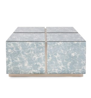 Paxton Mirrored Coffee Table