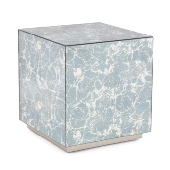 Paxton Mirrored Side Table