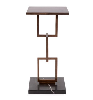 Eslabon Metal Side Table