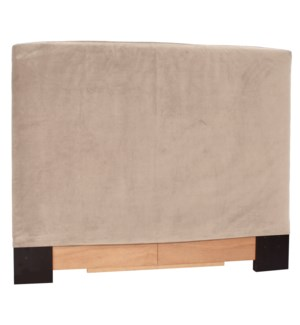 Twin Headboard Slipcover Bella Sand (Cover Only)