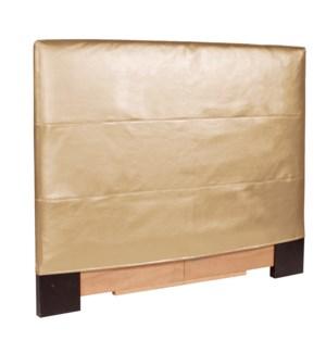 Twin Headboard Slipcover Luxe Gold