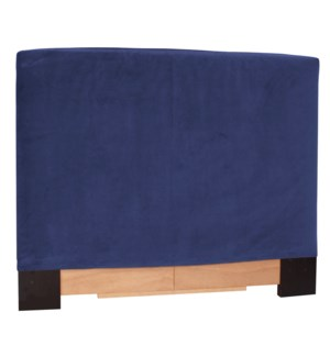 Twin Headboard Slipcover Bella Royal (Cover Only)