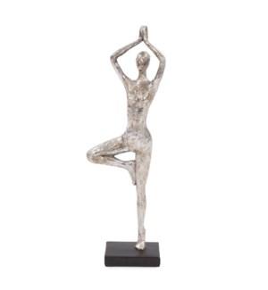 Tree Yoga Pose Figure