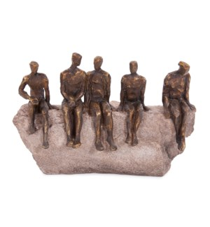 Waiting Figures Statue