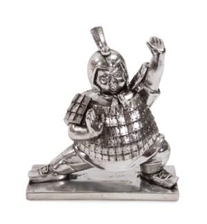 Lunging Zenkutsu Soldier Sculpture