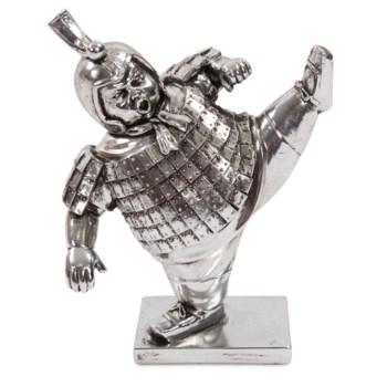 High Kick Uchiro Soldier Sculpture