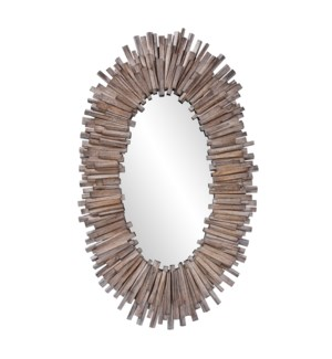Durango Oval Mirror