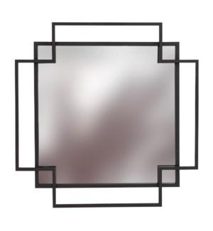 Square Geo Mirror