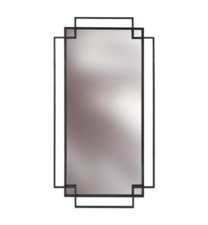 Rectangular Geo Mirror