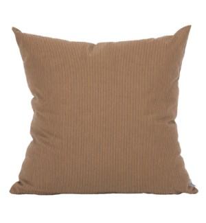 """20"""" x 20"""" Baldwin Stripe Smoke Pillow"""