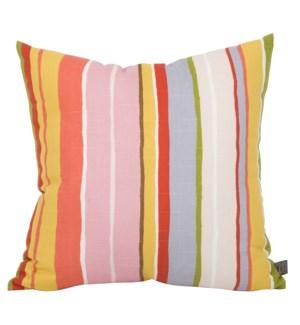 """20"""" x 20"""" Super Stripe Jewel Pillow"""