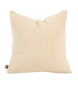"20"" x 20"" Pillow Deco Sand - Poly Insert"