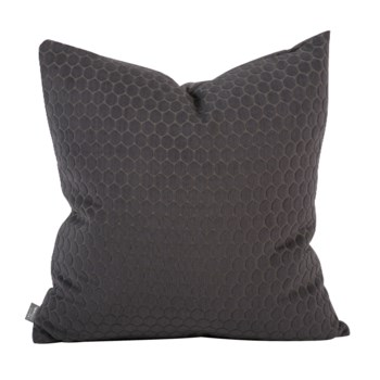"""20"""" x 20"""" Pillow Deco Pewter - Poly Insert"""