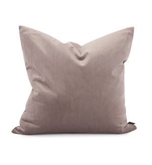 "20"" x 20"" Bella Ash Pillow - Poly Insert"