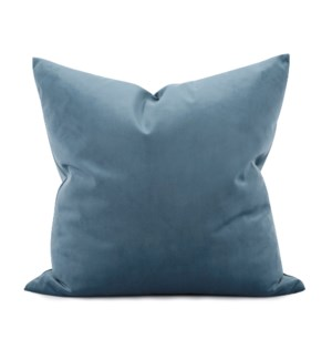 "20"" x 20"" Bella Teal Pillow - Down Fill"