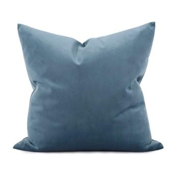 "20"" x 20"" Bella Teal Pillow - Down Fill"