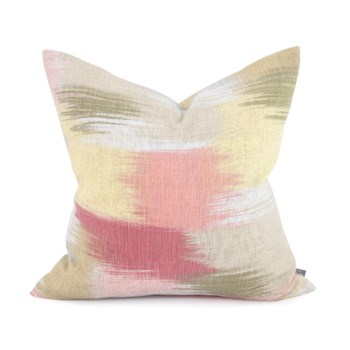 """20"""" x 20"""" Gleam Coral Pillow - Poly Insert"""