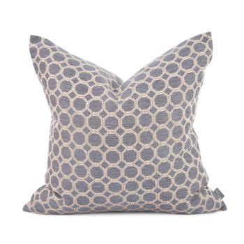 "20"" x 20"" Pyth Steel Pillow - Down Fill"