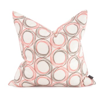 """20"""" x 20"""" Demo Coral Pillow - Down Fill"""