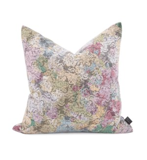 "20"" x 20"" Stanton Blush Pillow - Poly Insert"
