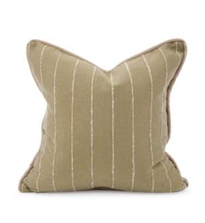 """20"""" x 20"""" Pillow Evie Moss - Down Insert"""