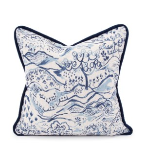 "20"" x 20"" Pillow Fable Royal - Down Insert"