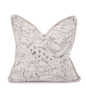 """20"""" x 20"""" Pillow Fable Sand - Down Insert"""