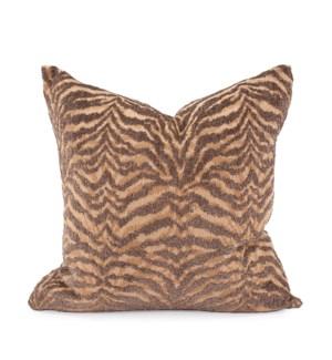 """20"""" x 20"""" Pillow Bengal Gold - Down Insert"""