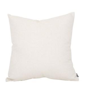 """20"""" x 20"""" Rumor Vanilla Pillow"""