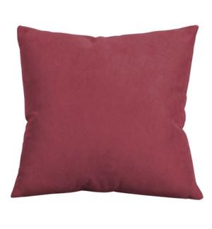 "20"" x 20"" Mojo Merlot Pillow"
