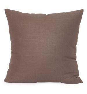 "20"" x 20"" Linen Slub Truffle Pillow"