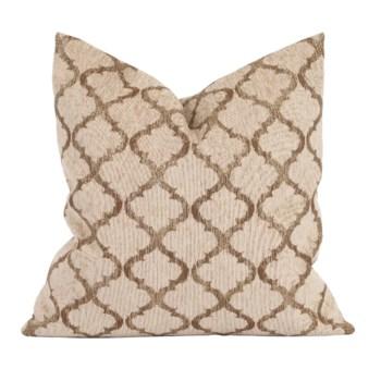 "20"" x 20"" Pillow Moroccan Gold - Down Insert"
