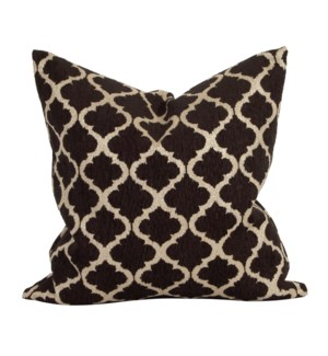 "20"" x 20"" Pillow Moroccan Onyx - Down Insert"