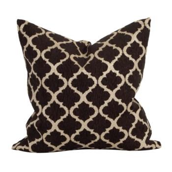"20"" x 20"" Pillow Moroccan Onyx - Down Insert"