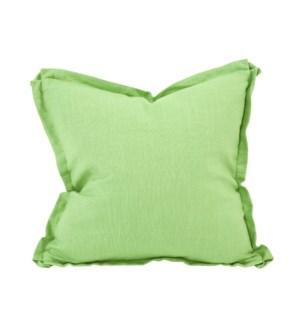 """20"""" x 20"""" Pillow Linen Slub Grass - Down Insert"""