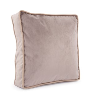 "20"" Gusseted Pillow Bella Ash - Down Insert"