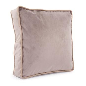 """20"""" Gusseted Pillow Bella Ash - Down Insert"""