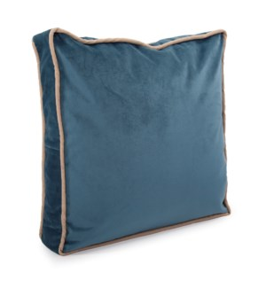"20"" Gusseted Pillow Bella Teal - Down Insert"
